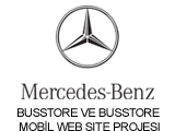 MERCEDES - BENZ TÜRK BUSSTORE WEB SİTESİ
