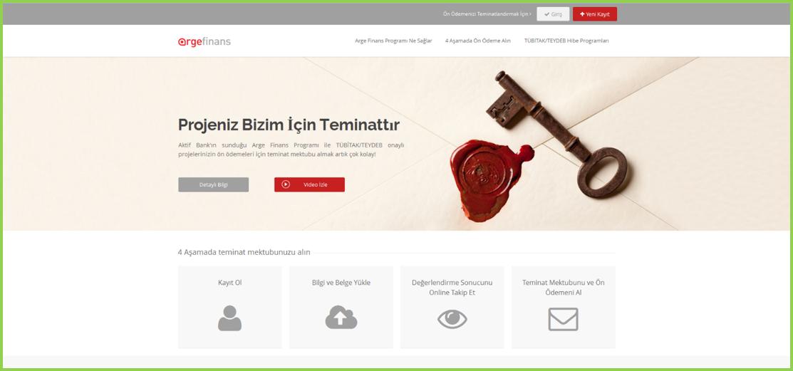 AKTIF BANK ARGE FİNANS WEB SİTESİ