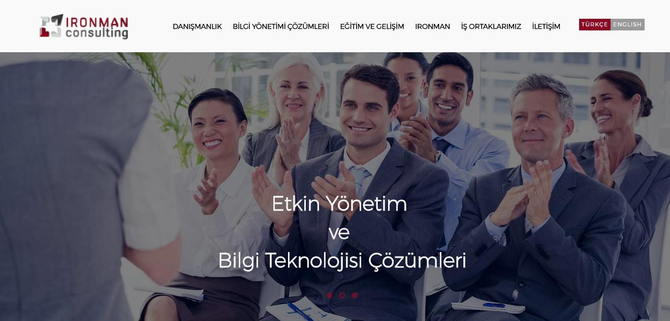 IRONMAN CONSULTING WEB SİTESİ