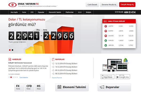 OYAK YATIRIM FX KURUMSAL WEB SİTESİ