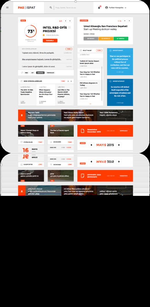 Cumhurbaşkanlığı Yatırım Ofisi SharePoint Foundation 2013 Kurumsal Portal Projesi