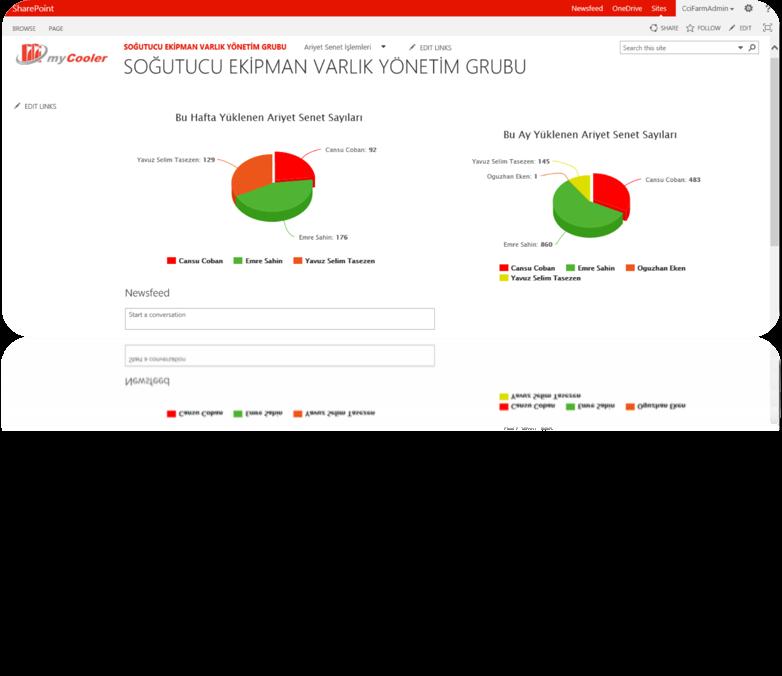 Coca Cola Cokedocs SharePoint 2013 Portal Bakımı