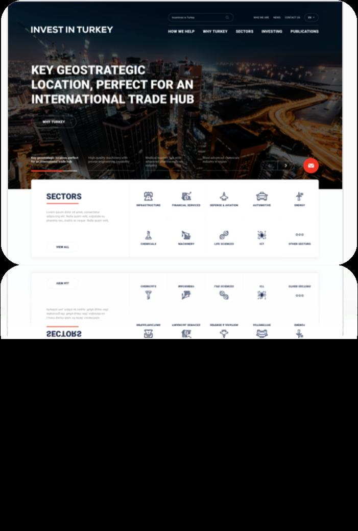 Cumhurbaşkanlığı Yatırım Ofisi Web Sitesi