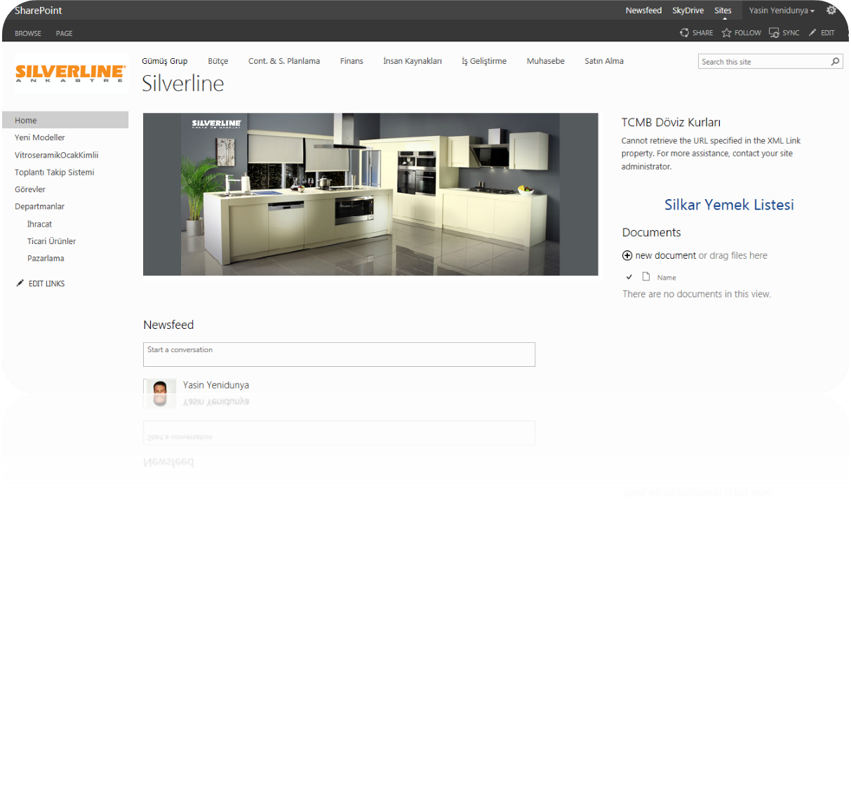 Silverline SharePoint Upgrade Projesi